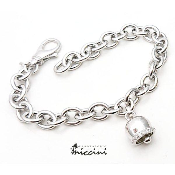 Bracciale Campanella in argento