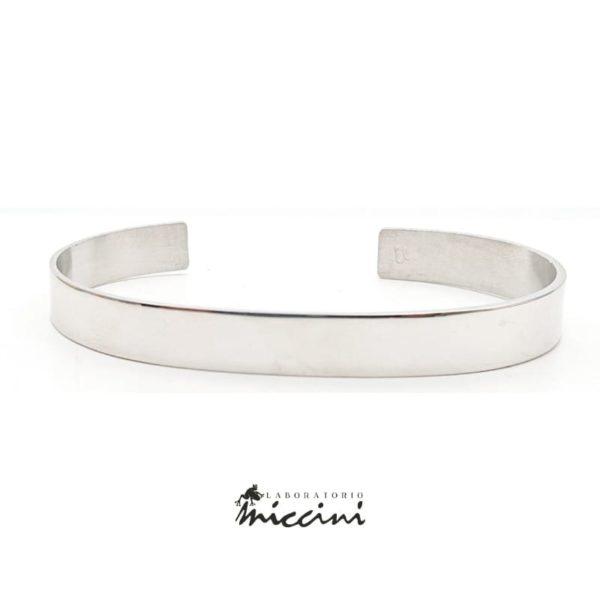 Bracciale Rigido a Fascia in argento