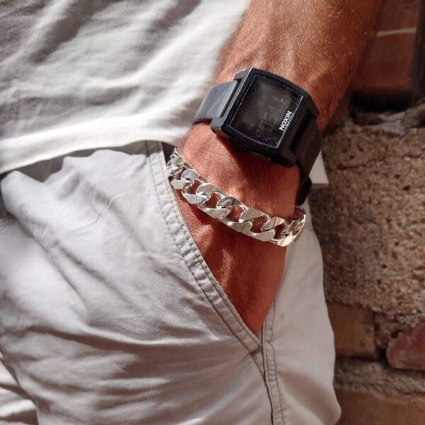 bracciale grumetta in argento 925