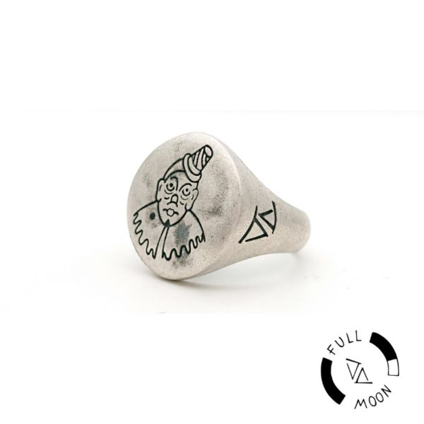 Anello Clown Full Moon
