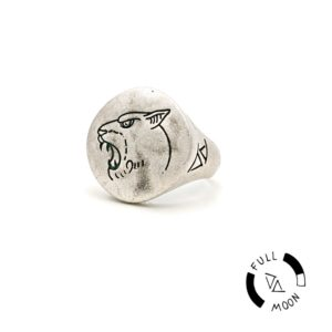 Anello Pantera Full Moon