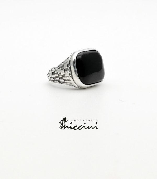 anello chevalier onice