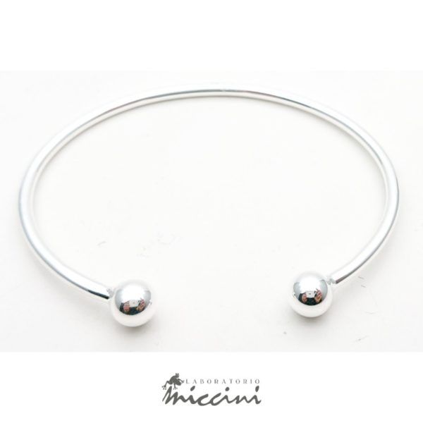 Bracciale piercing in argento 925