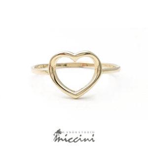 anello a cuore