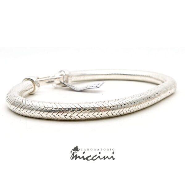 Bracciale Snake in argento