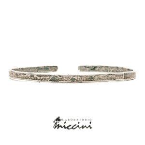 Bracciale rigido in argento 925 personalizzabile con incisione