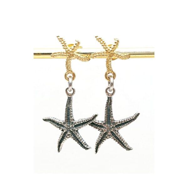 Orecchini Stelle Marine in argento 925