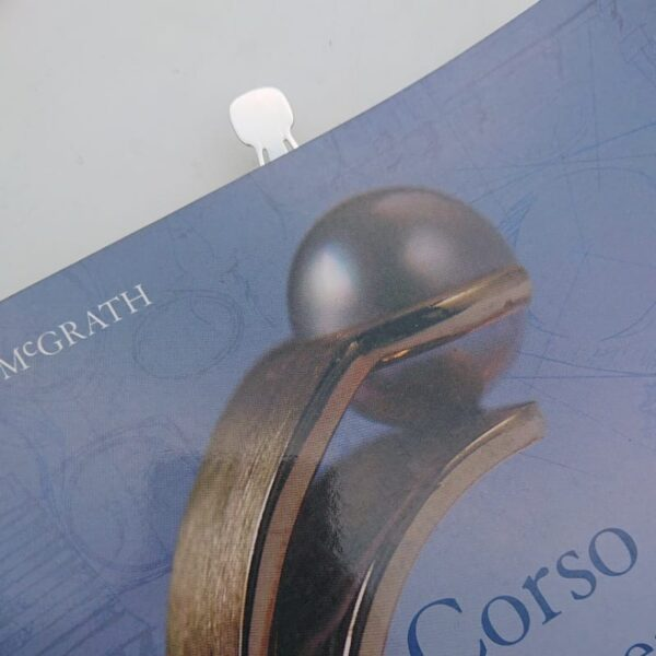 Segnalibro in argento