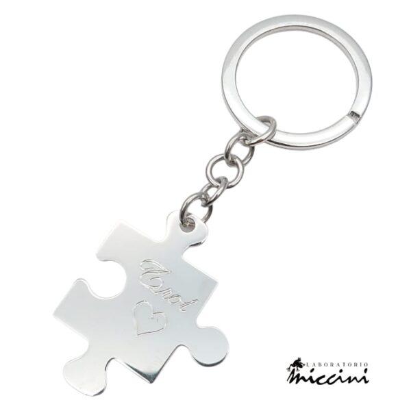 Portachiavi Puzzle Personalizzabile