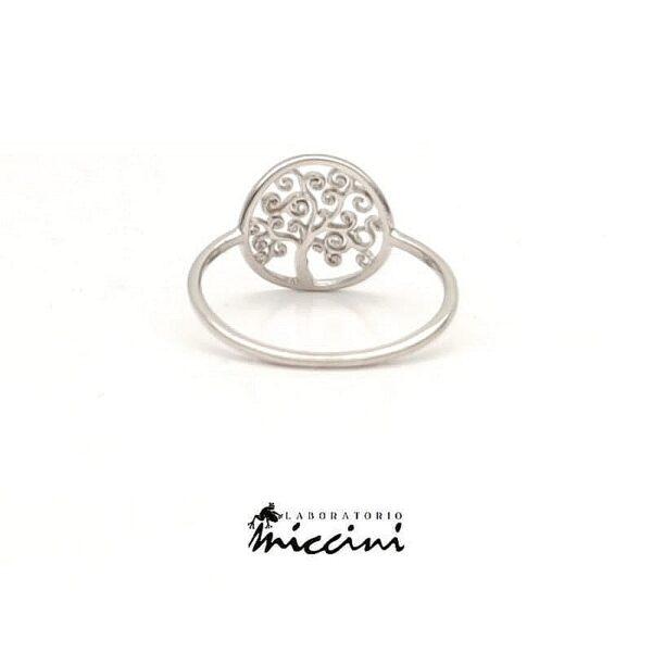 anello con simbolo albero della vita