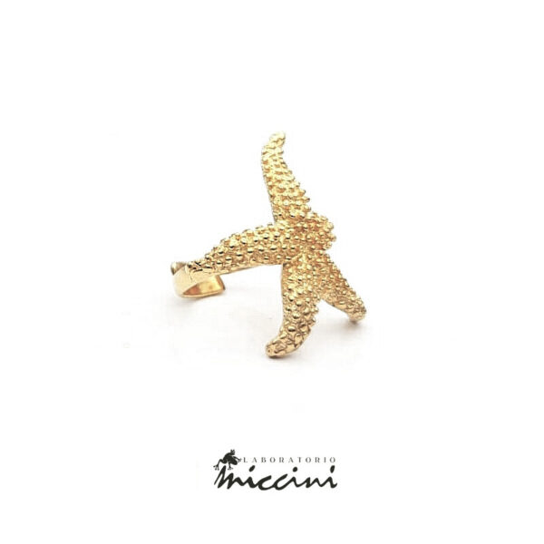 anello a forma di stella marina